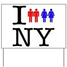 New York Gay Marriage Yard Sign