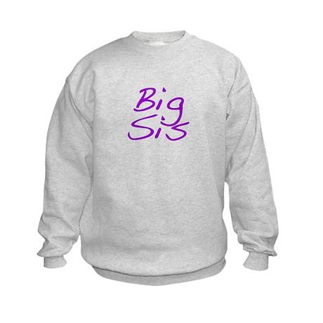 Big Sis Kids Sweatshirt