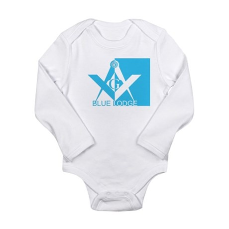 Blue Lodge Long Sleeve Infant Bodysuit
