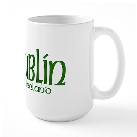 Dublin, Ireland Large Mug