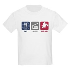 Eat Sleep Big Air - Quads T-Shirt