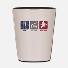 Eat Sleep Big Air - Quads Shot Glass