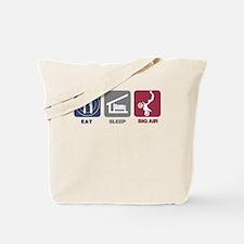 Eat Sleep Big Air - Motocross Tote Bag