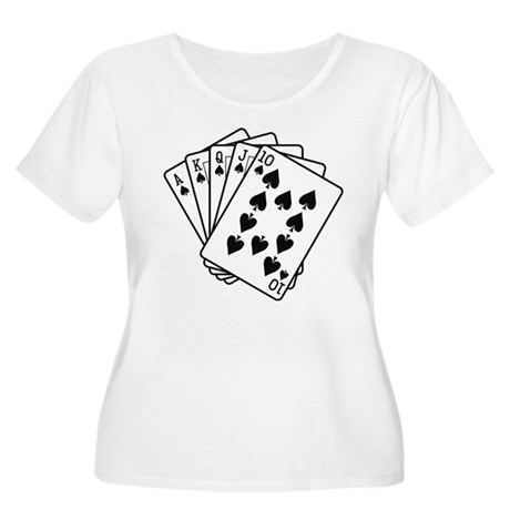 Let's Play a Game Women's Plus Size Scoop Neck T-S