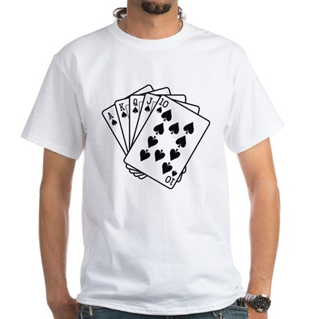 Let's Play a Game White T-Shirt