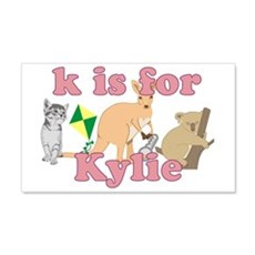 K is for Kylie 22x14 Wall Peel