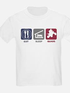 Eat Sleep Quads T-Shirt
