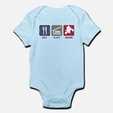 Eat Sleep Quads Infant Bodysuit