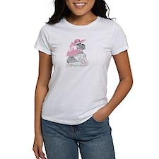 """I Love My Little Girl"" Schnauzer Ladies' T-Shirt"