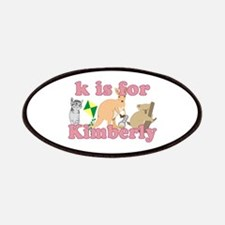K is for Kimberly Patches