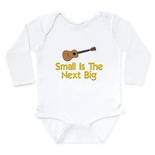 Funny Ukulele Long Sleeve Infant Bodysuit