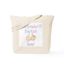 Proud Grandma of Boy Girl Twi Tote Bag