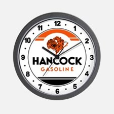 Hancock Gasoline Wall Clock