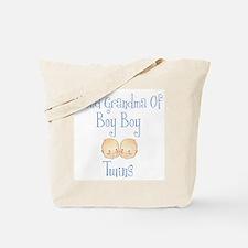 Proud Grandma of Boy Twins Tote Bag