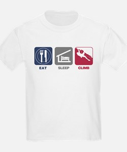 Eat Sleep Climb - Man T-Shirt