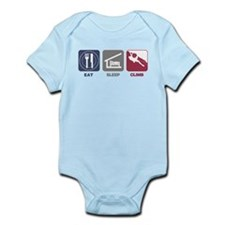 Eat Sleep Climb - Man Infant Bodysuit