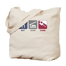 Eat Sleep Climb - Man Tote Bag