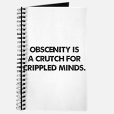 Obscenity is a crutch Journal