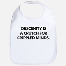 Obscenity is a crutch Bib