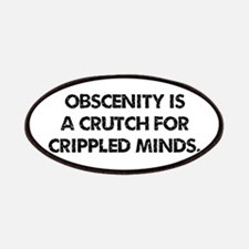 Obscenity is a crutch Patches