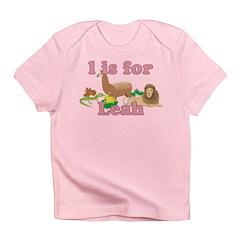 L is for Leah Infant T-Shirt