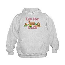 L is for Leah Hoodie