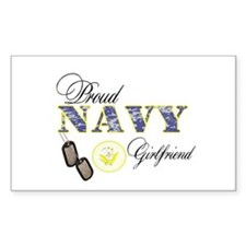 Proud Navy Girlfriend Decal