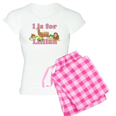 L is for Lillian Women's Light Pajamas