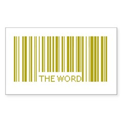 The Word Rectangle Decal