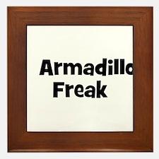 Armadillo Freak Framed Tile