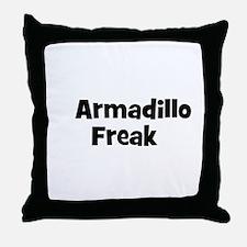 Armadillo Freak Throw Pillow