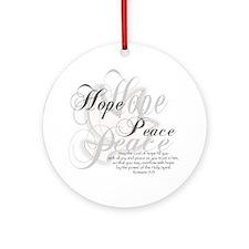 God Of Hope Ornament (Round)