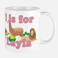 L is for Layla Mug