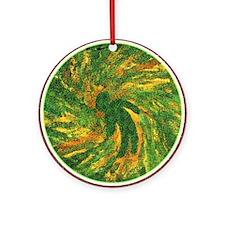 Jessica Wright Fan Ornament (Round)