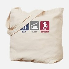 Eat Sleep Soccer - Woman Tote Bag