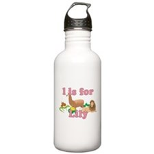 L is for Lily Water Bottle