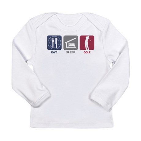 Eat Sleep Golf - Man Long Sleeve Infant T-Shirt