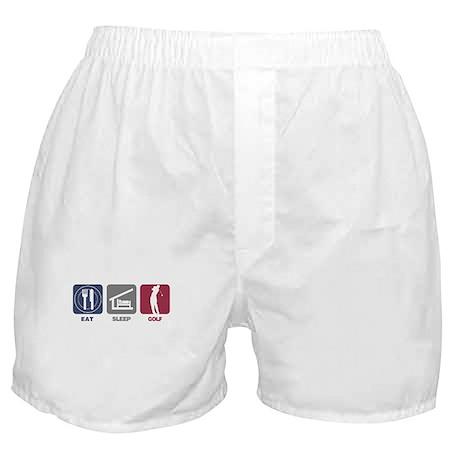 Eat Sleep Golf - Man Boxer Shorts