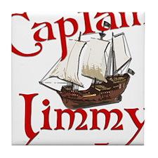 Captain Jimmy Tile Coaster