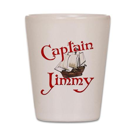 Captain Jimmy Shot Glass