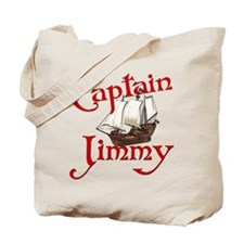 Captain Jimmy Tote Bag