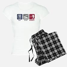 Eat Sleep Baseball Pajamas