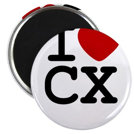 "I Heart Cyclocross 2.25"" Magnet (10 pack)"