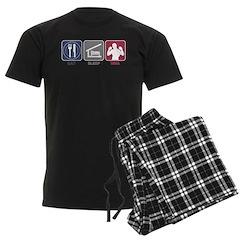 Eat Sleep MMA Pajamas
