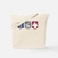 Eat Sleep MMA Tote Bag