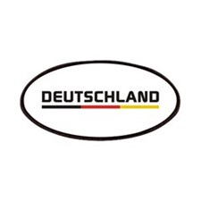 Soccer DEUTSCHLAND Stripe Patches