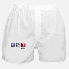 Eat Sleep Med-School Boxer Shorts
