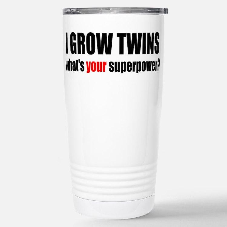 Cute Twins on board Travel Mug