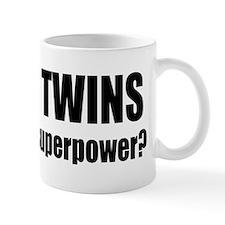grow twins bumper Mugs