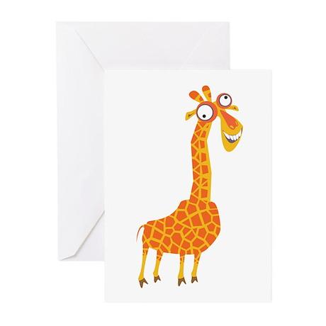 Loony Giraffe Greeting Cards (Pk of 10)